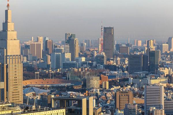 مباني طوكيو