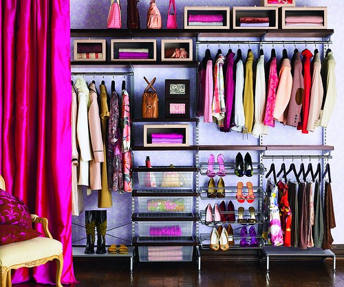 تقسيمات رائعة لخزانات الملابس