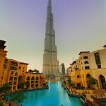 تصميم هيكل برج خليفة بدبي