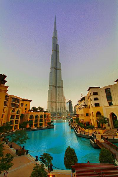 برج خليفة في دبي المرسال