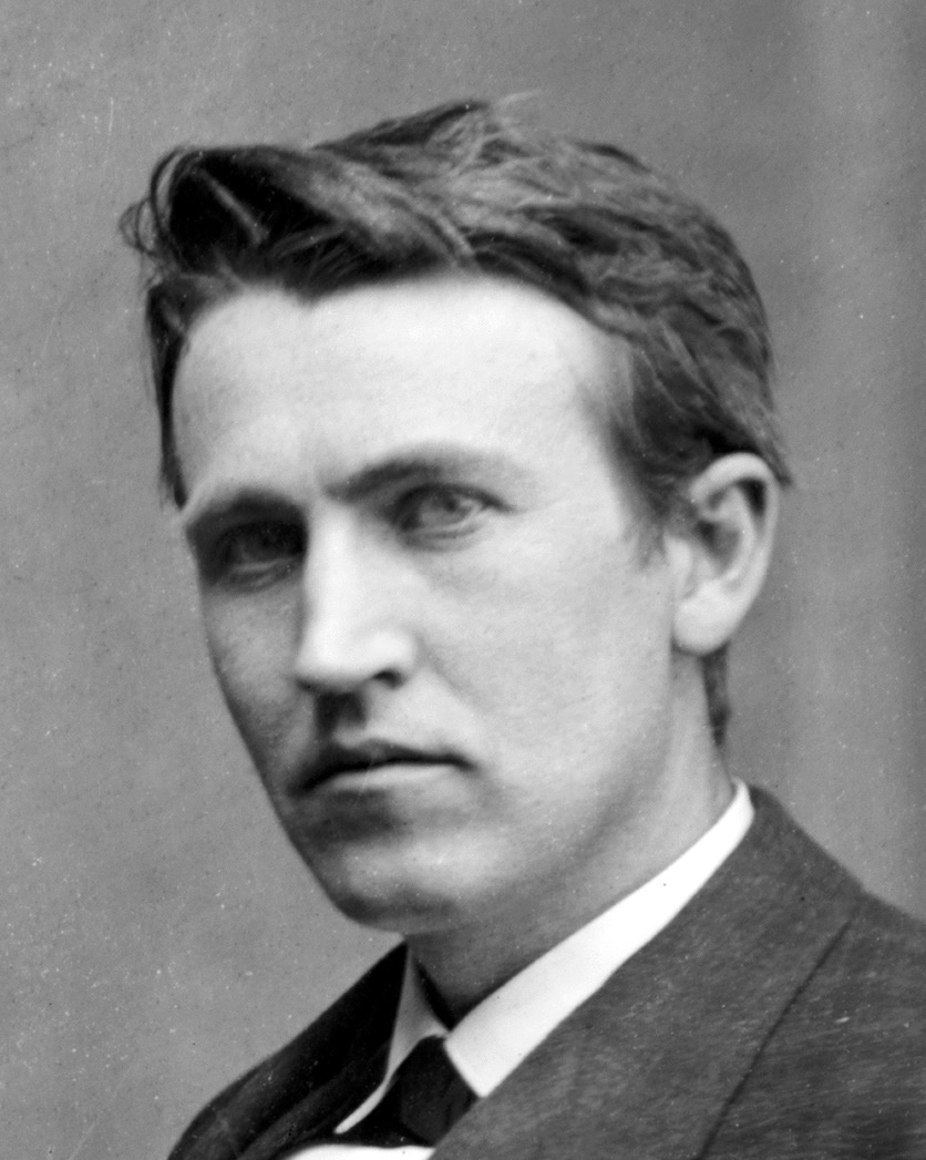Although Edison coveted success of Tesla and thought of him as an enemy,  Tesla never considered Edison as his opponent. (Tesla never actually gave a  fu*k ...