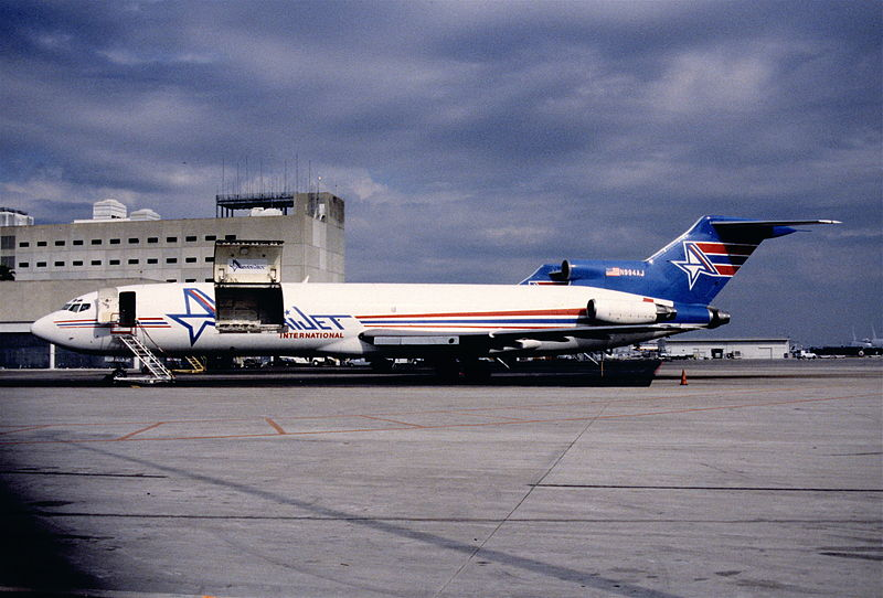 Amerijet International Boeing 727-233F