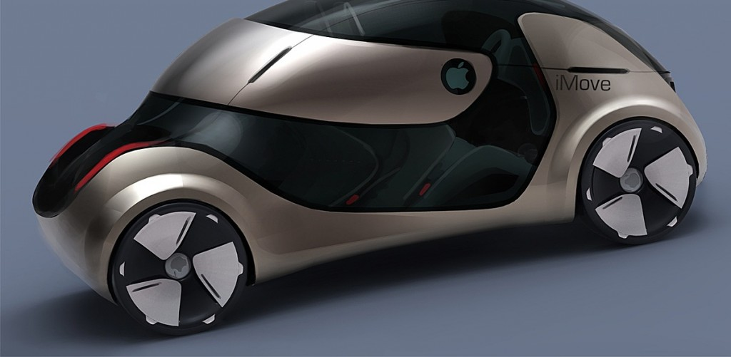 Apple electrical self-driving car I Move