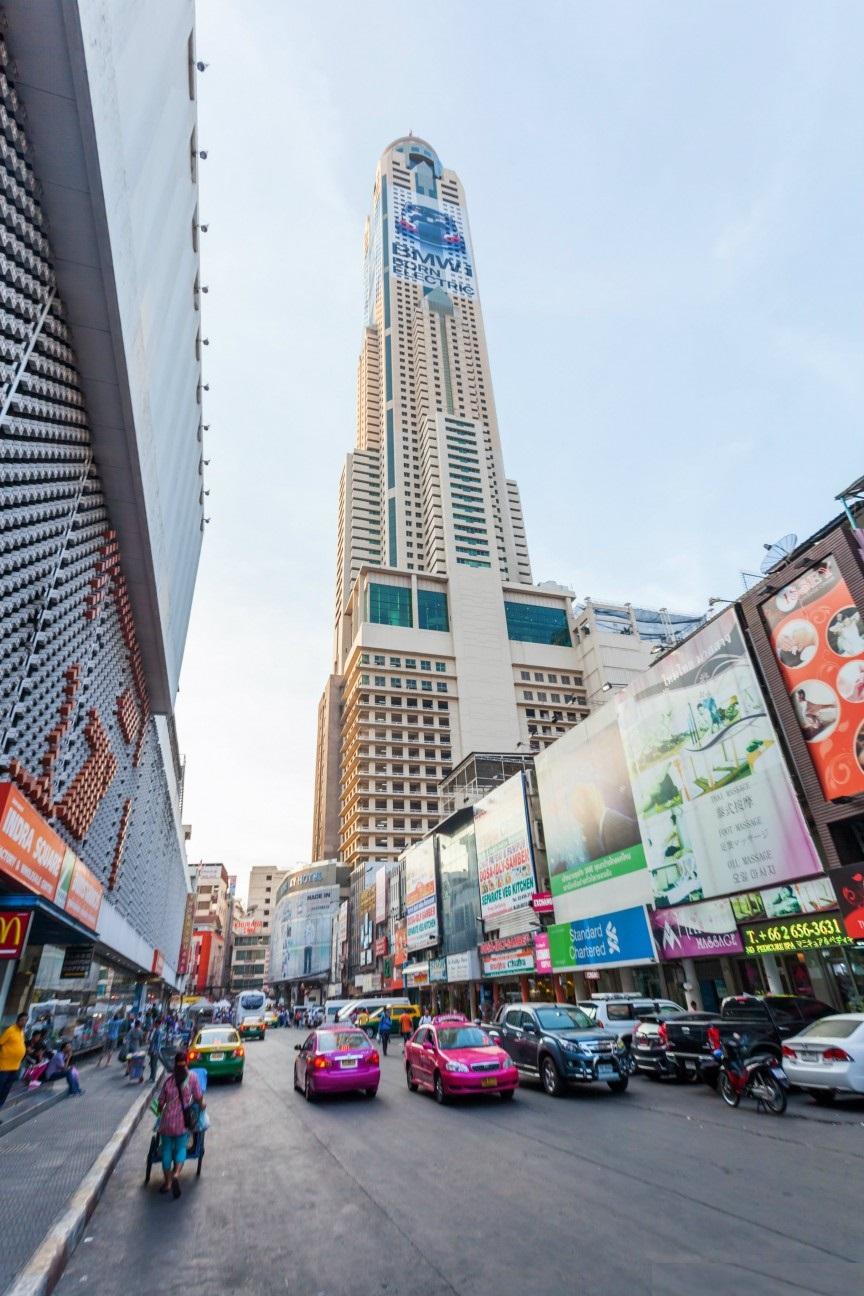 اطول فنادق العالم Baiyoke-Tower-II-–