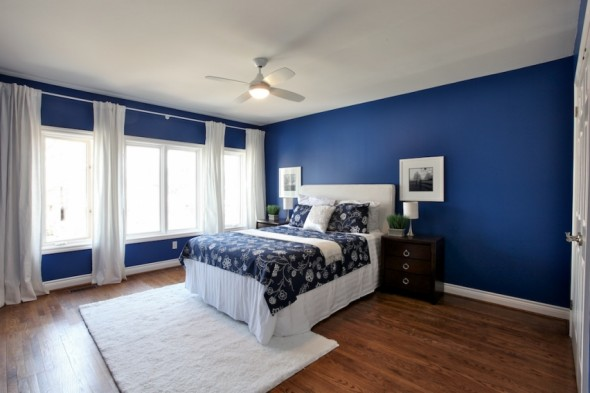 Bedroom Color Schemes For White Walls :