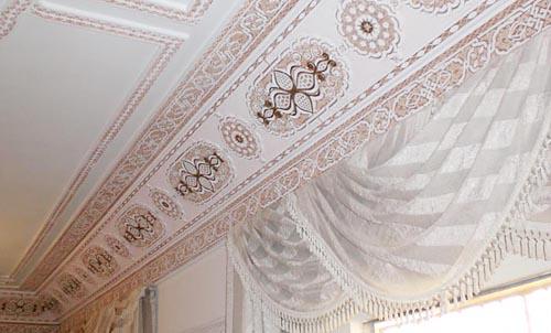 نقوشات الاسقف الجبسية التراثية الجميلة