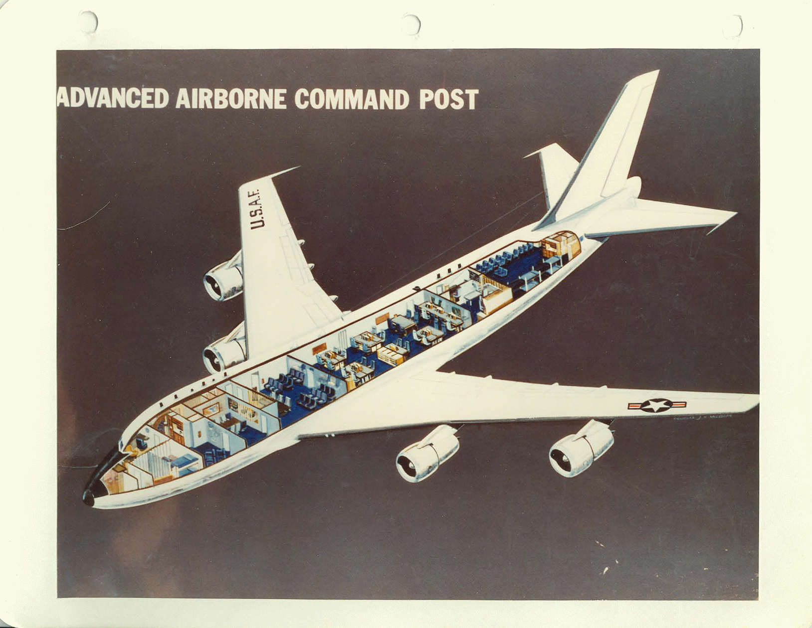 Boeing E4 design