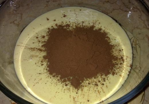 خلط مقادير عمل الكيكة