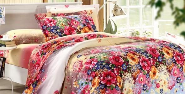 مفارش ملونة بغرف نوم بنات ذوق