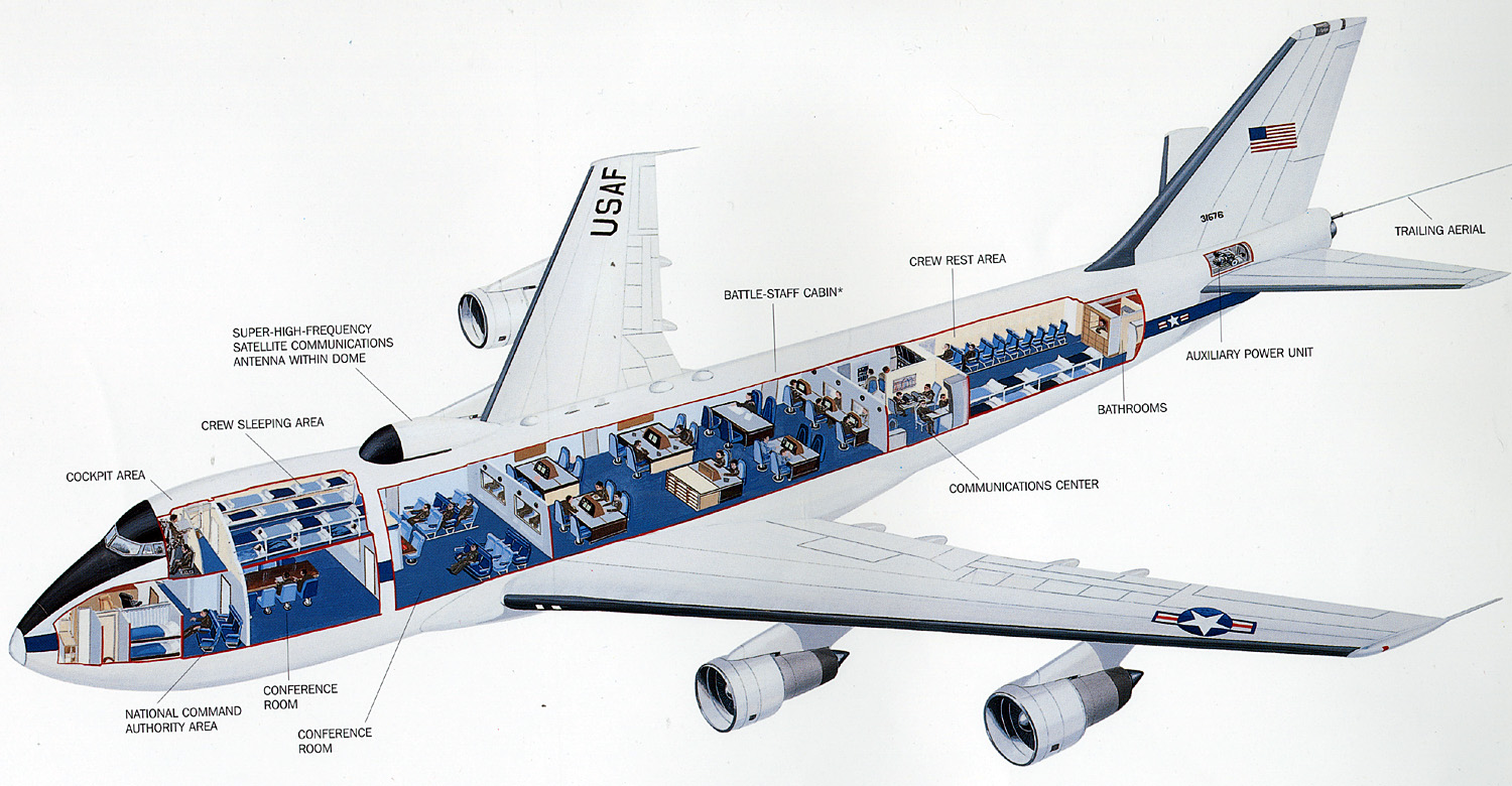 Doomsday plane us is Boeing E-4b.
