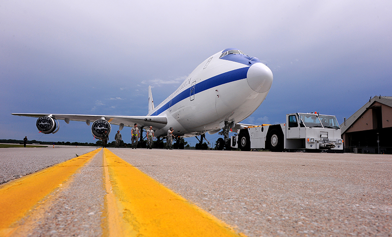 E-4B Nightwatch aircraft