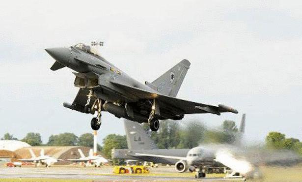 افضل طائرة حربية Eurofighter-Typhoon.