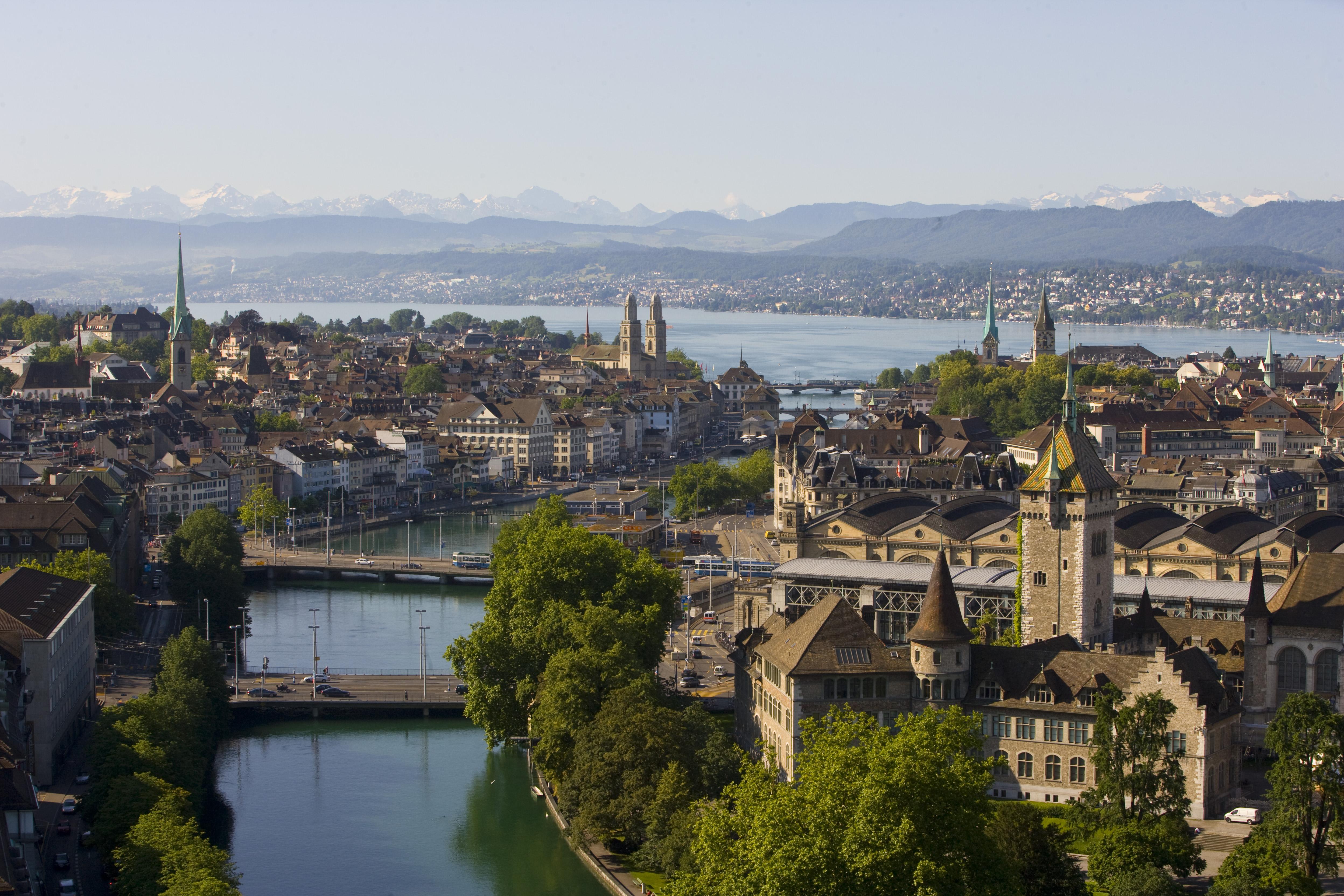 Zurich banking centre