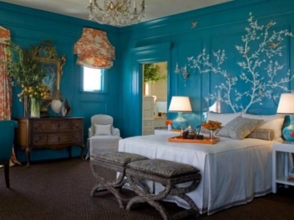 غرف النوم الروعة بالوان جديدة