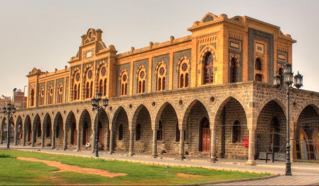تراث المدينة المنورة Hijaz-train-station.png