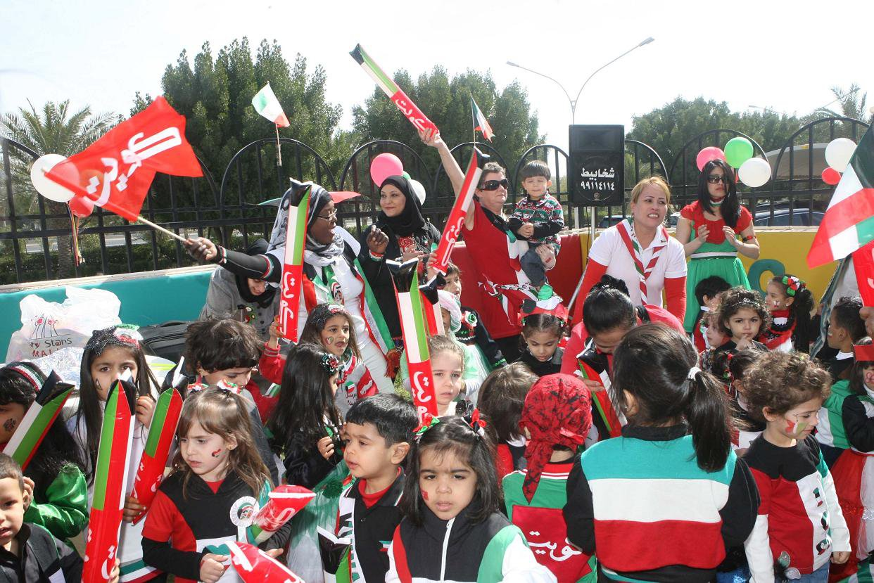 بالصور الاحتفال بذكرى العيد الوطني في الكويت | المرسال