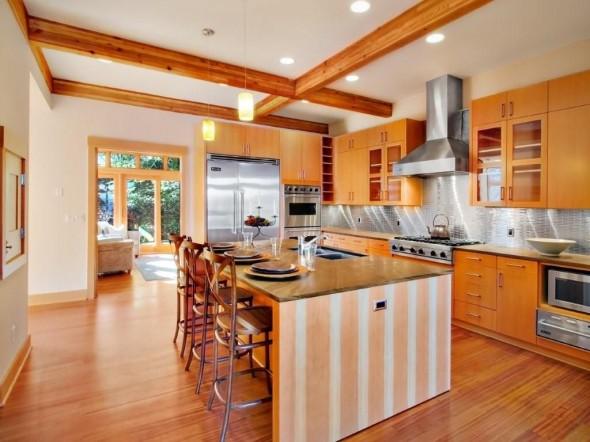 اسقف جميلة لمطبخ الجديد