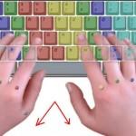 طريقة وضع اليد على صف الارتكاز في لوحة المفاتيح - 202487