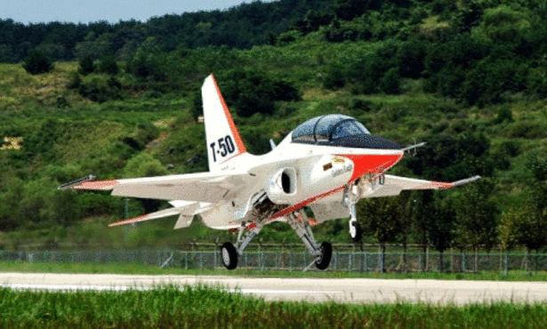 افضل طائرة حربية T-50-Golden-Eagle.jp