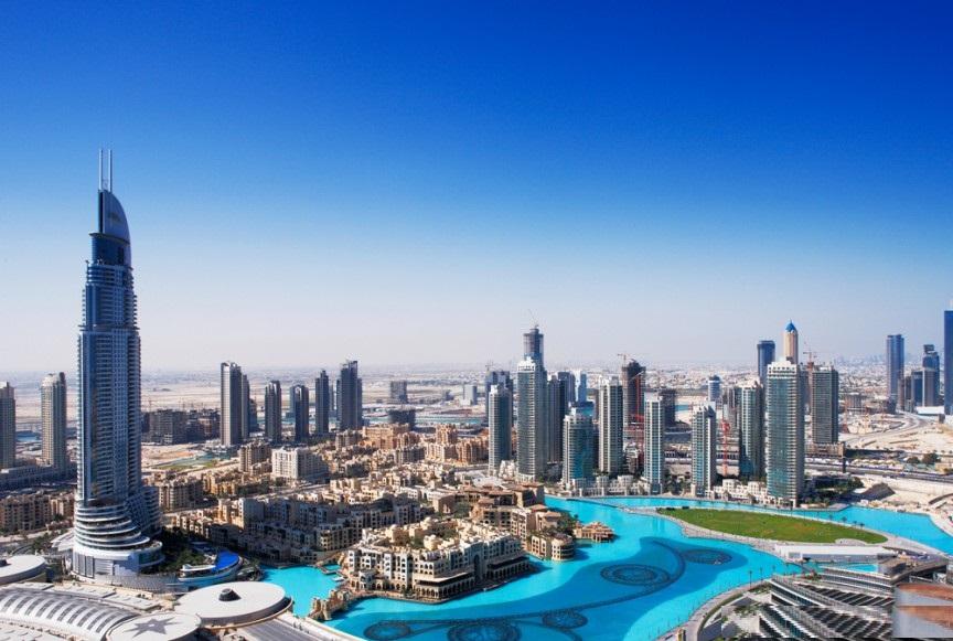 فندق العنوان وسط مدينة دبي