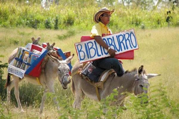 The Biblioburro Delivering Books Via Donkey