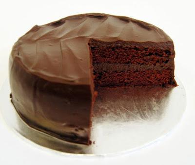 قالب الحلوي المثلج من الشيكولاتة