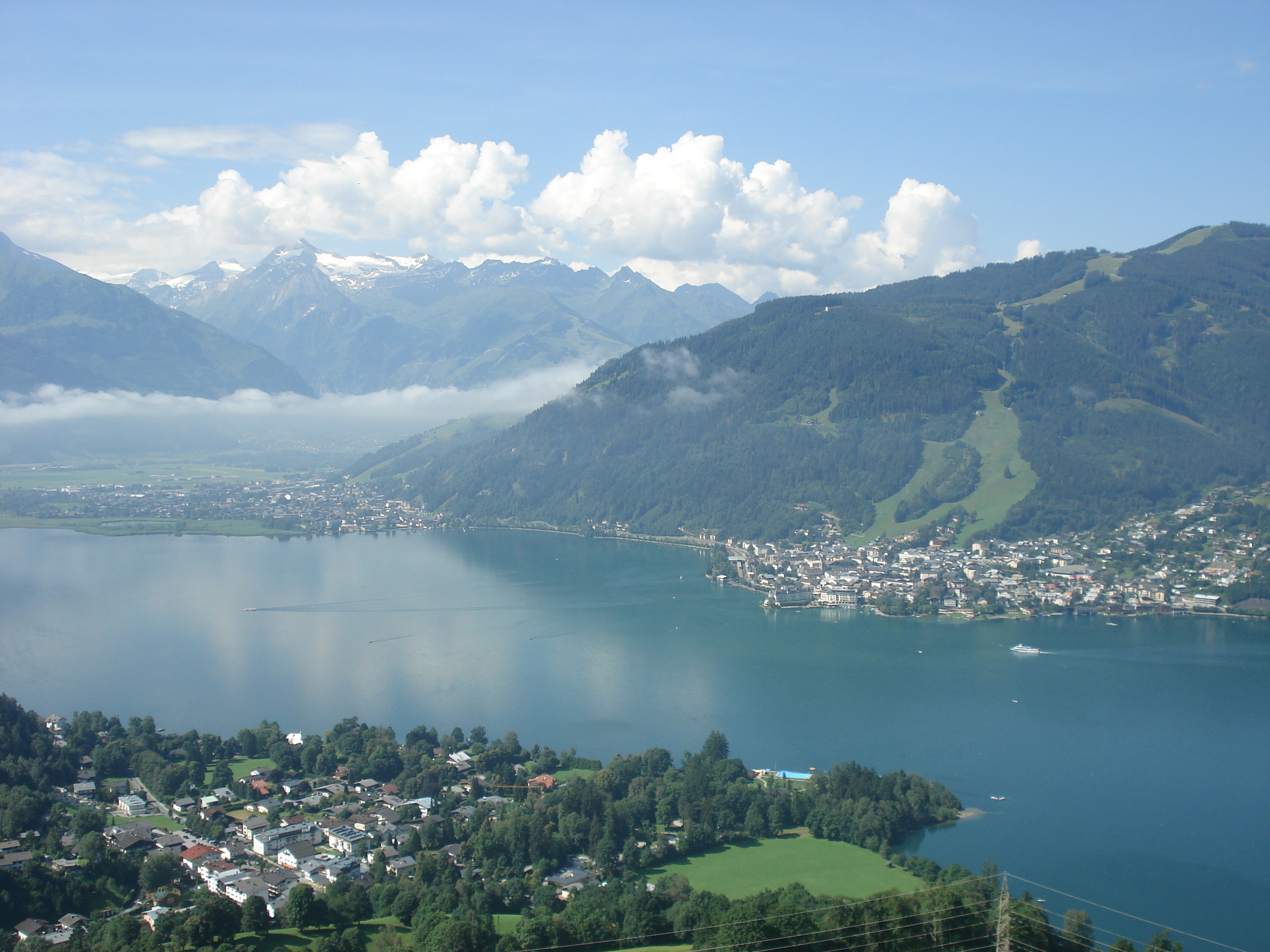 View over Lake Zell