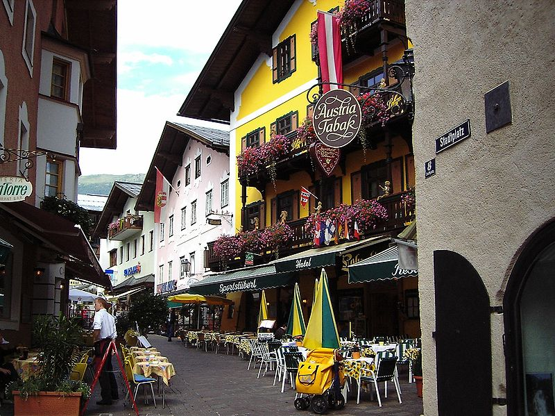 Zell am See bulding
