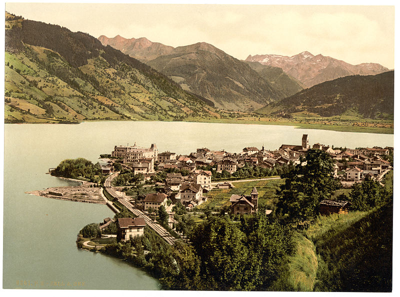 Zell am See in 1900