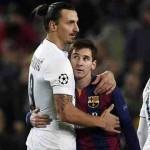 ميسي هو سبب رحيل ابراهيموفيتش عن برشلونة