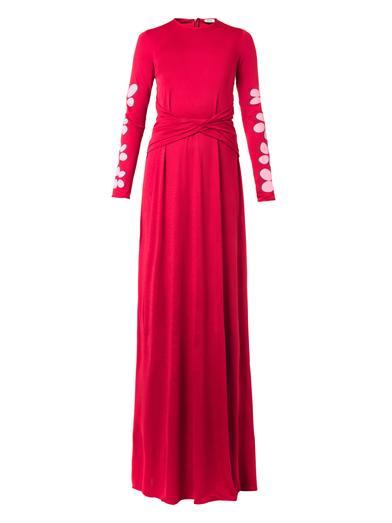 فستان وردي من عيسى issa