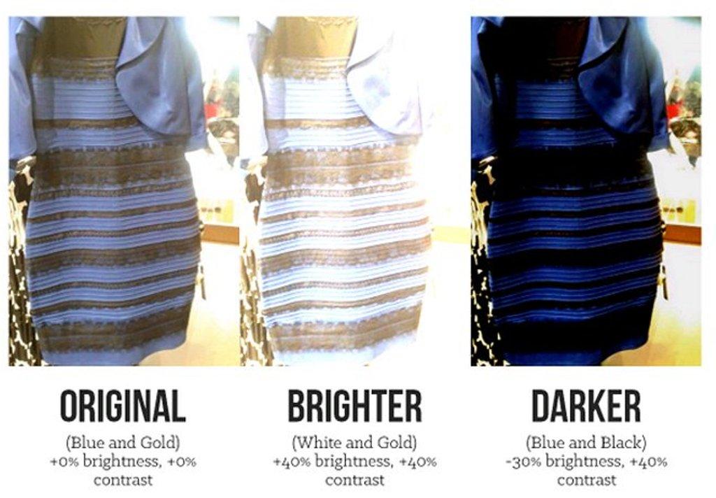 618770346 قصة الفستان الذي حير العالم !   المرسال