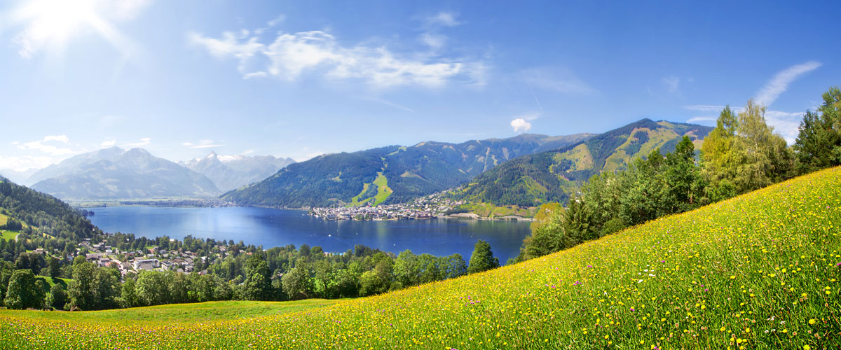 panorama of Zell am See