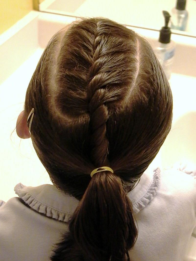 تعلمي تسريحة للمدرسة للشعر القصير simple-hairstyle.jpg