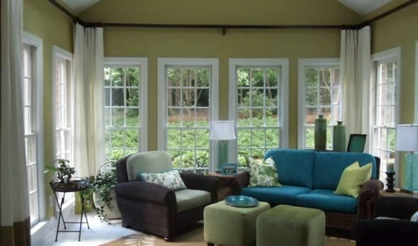 الوان رائعة لجلسات اسطح المنازل