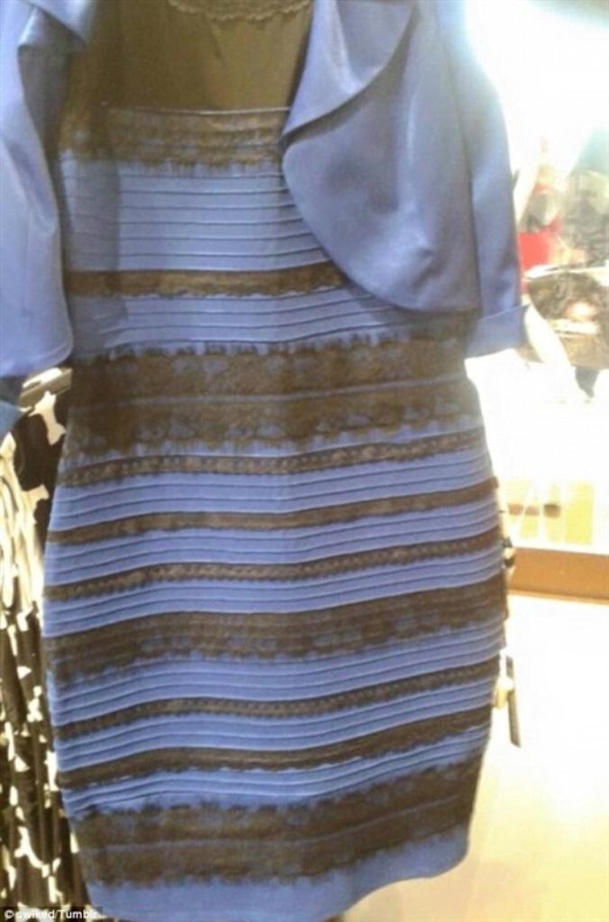 الفستان الذي حير العالم