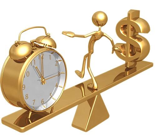 مقارنة بين الوقت والمال | المرسال