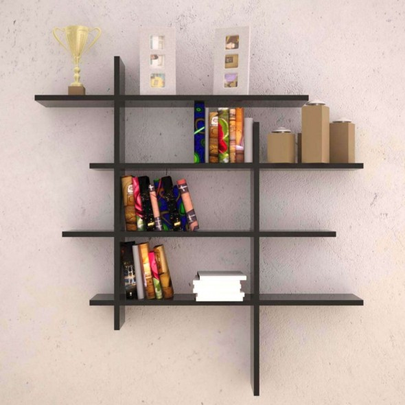 Unique Wall Decor Shelves Wooden Decorating Ideas Simple And Easy Wall
