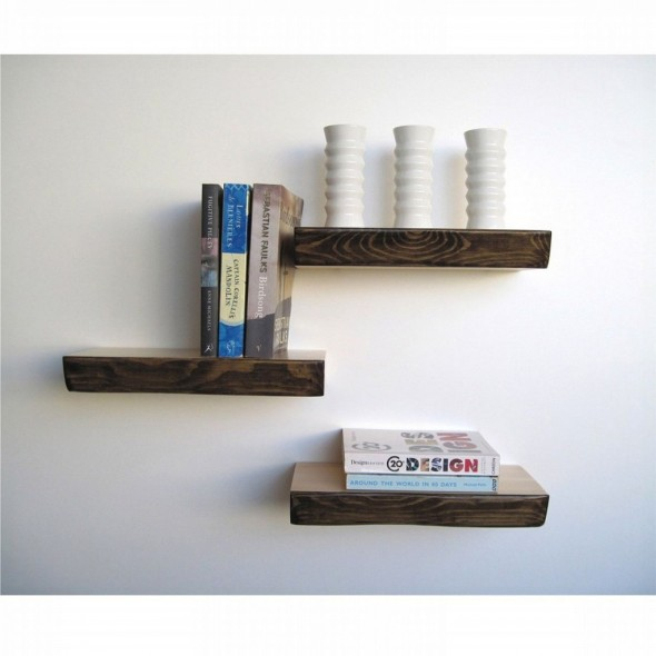 Wall Shelves Design As A Bookshelvesn Simple And Easy Wall Decor For