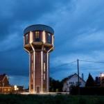 منزل داخل برج مياة في بلجيكا