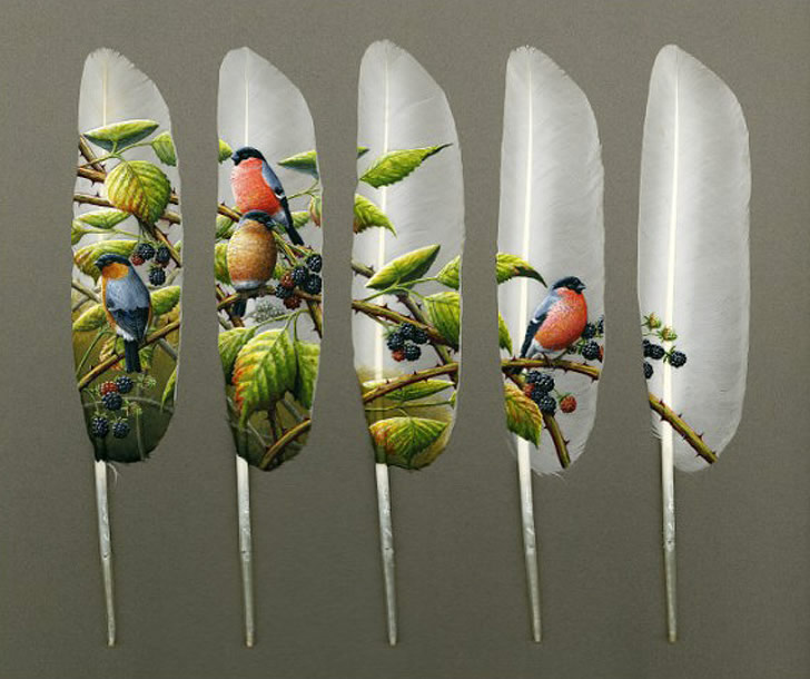 أعمال فنية غريبةمن ابداع البريطاني ايا ديفي