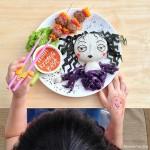 أطباق طعام تبدو كأنها أعمال فنية