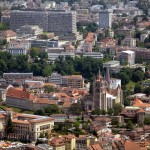 Aerial view of Lausanne - 220812
