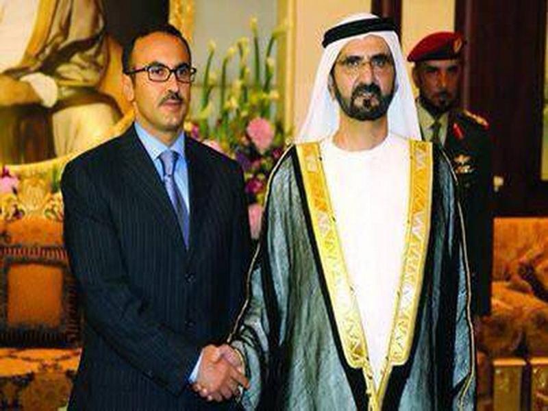 احمد علي سفيرا لليمن في الامارات