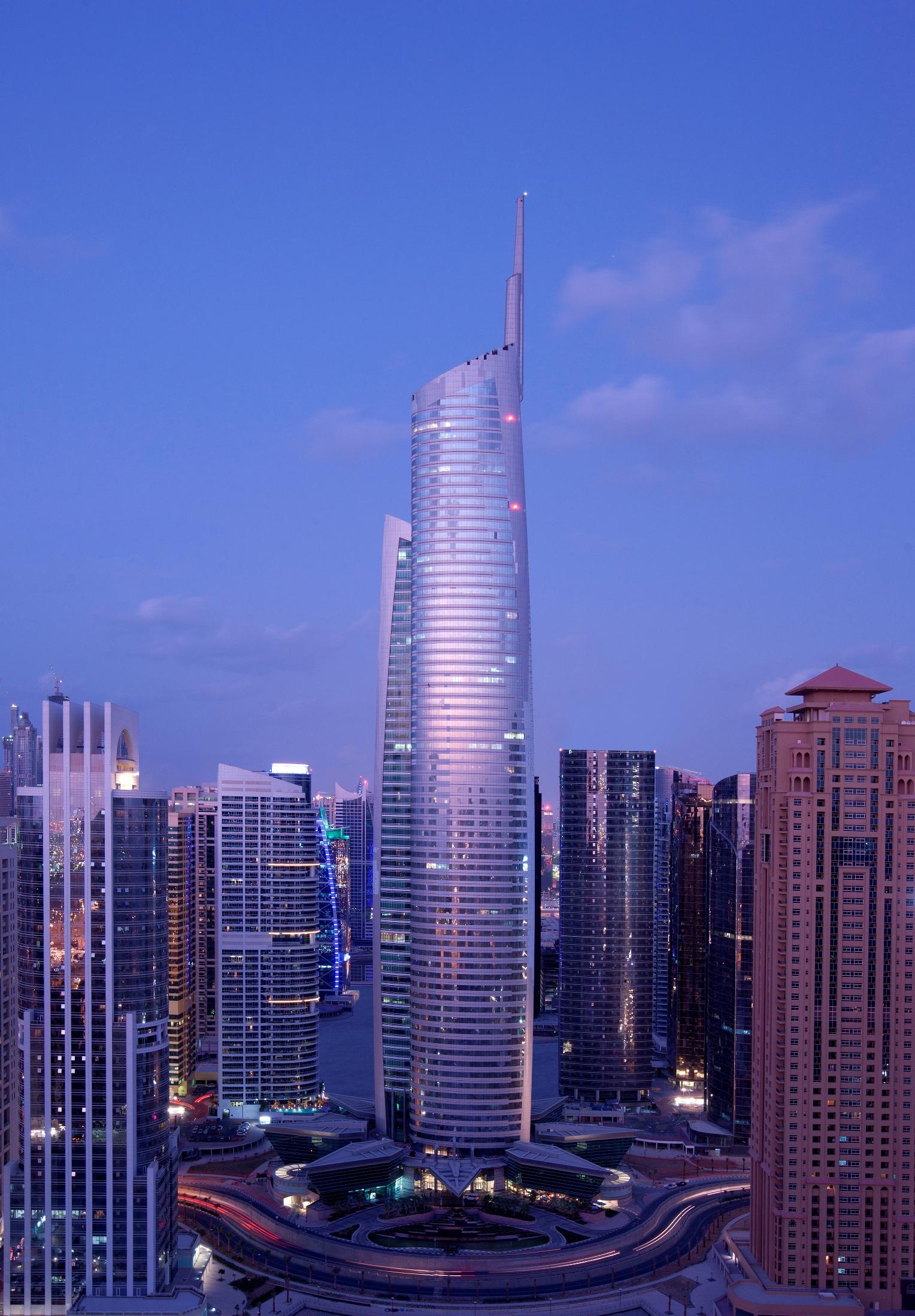 أبراج مدينة دبي العالمية