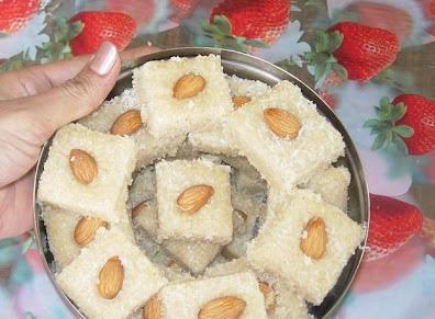 عمل حلويات بدون فرن