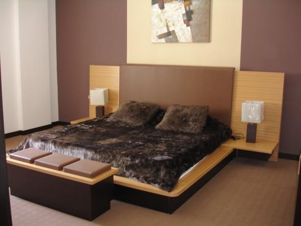 غرفة نوم بلون بني روعة | المرسال