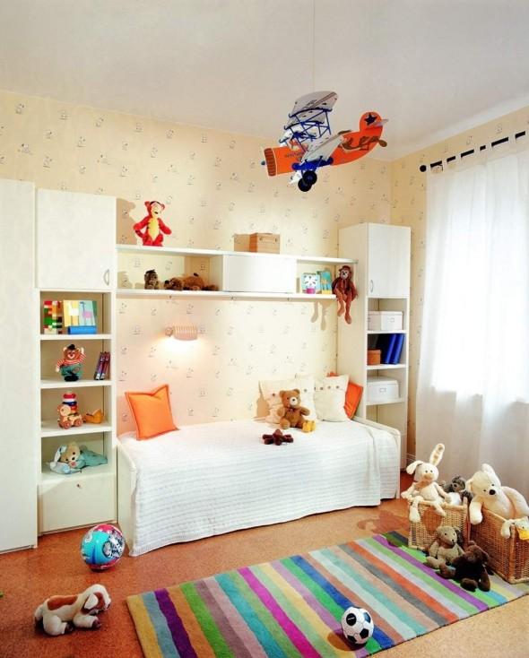 جدران رقيقة بغرف الاولاد