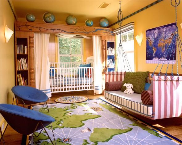 سجاد روعة غرف نوم الاطفال