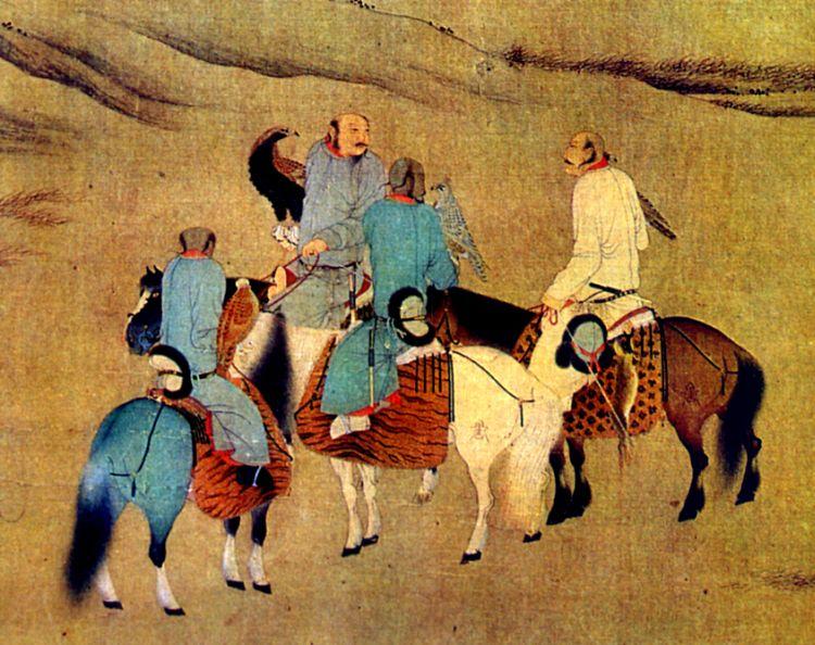 أشياء لا تعرفها عن المغول Every-winter-the-Mongols-called-for-a-great-strategic-hunt-of-animals